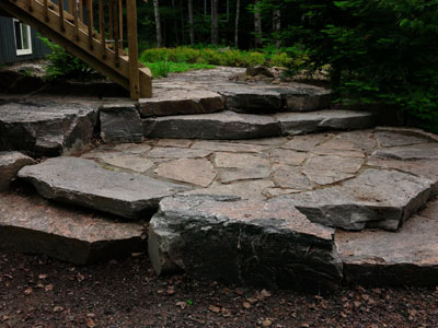 Entrances & Stairs - Granite Steps