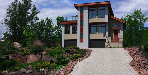 Interlock Driveways - Osprey Cres